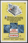 """Movie Posters:Hitchcock, Topaz (Universal, 1969). One Sheet (27"""" X 41""""). Hitchcock...."""