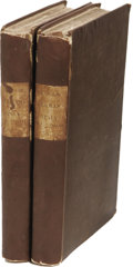Books:First Editions, Mary Shelley: Rambles in Germany and Italy, in 1840, 1842, and1843. (London: Edward Moxon, 1844), first edition, two vo...