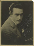 "Movie/TV Memorabilia:Autographs and Signed Items, Harold Lloyd Autographed Photo. A very handsome 6"" x 8"" b&wportrait of Silent Screen comedy superstar Harold Lloyd (without..."