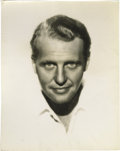 "Movie/TV Memorabilia:Photos, Ralph Bellamy 11"" x 14"" Portrait. The film career of Ralph Bellamy(1904-1991) spanned from 1931 to 1990, including a 1987 H..."