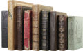 Books:First Editions, Collection of Eight Nineteenth Century Books. Reynell Coates,editor: Leaflets of Memory; An Annual for 1846(Philadelph... (Total: 8 )