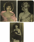 Movie/TV Memorabilia:Photos, Vintage Photos of Three Leading Ladies of Horror. A trio ofbeautiful actresses who made their mark in classic horrors: Mary...(Total: 3 )