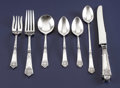 Silver Flatware, American:Gorham, An American Silver Flatware Service. Gorham Manufacturing Company,Providence, Rhode Island. Circa 1917. Sterling silver, st...(Total: 69 )