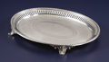 Silver & Vertu:Hollowware, An Oval Silver Tray. Unknown maker, possibly American. 1859-1866. Silver. Marks: (eagle) (effaced) (harp); BAILEY & Co.,...
