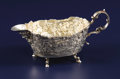 Silver Holloware, Continental:Holloware, A Continental Silver Creamer. Unknown maker, Continental.Nineteenth Century. Silver. Marks: (effaced marks), D, p.2...