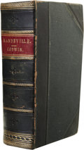 Books:Non-American Editions, William Godwin: Mandeville: A Tale of the Seventeenth Century inEngland. (Edinburgh: Printed for Archibald Constable an...