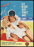 """Movie Posters:Romance, A Summer Place (Warner Brothers, 1959). French Grande (45"""" X 64.25""""). Drama. Starring Richard Egan, Dorothy McGuire, Sandra ..."""