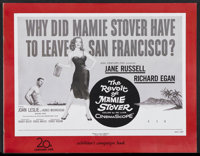 The Revolt of Mamie Stover (20th Century Fox, 1956). Pressbook (Multiple Pages). Drama. Starring Jane Russell, Richard E...