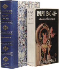 Hugo Gernsback: Ralph 124C 41+ A Romance of the Year 2660. (Boston: The Stratford Company, 1925), first edition (Currey...