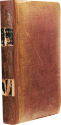 Books:Non-American Editions, Mary Shelley's Frankenstein; or, The Modern Prometheus bound with Volume I of Friedrich Schiller's The Ghost-Seer...