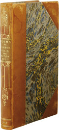 Books:First Editions, Currer, Ellis, and Acton Bell [pseudo. Charlotte, Emily, and AnneBronte]: Poems. (London: Smith, Elder and Company, 184...