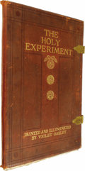 Books:Signed Editions, Violet Oakley: The Holy Experiment A Message to the Worldfrom Pennsylvania. A series of mural paintings at the stat...