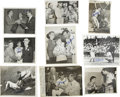 Autographs:Baseballs, 1940s-50s Stan Musial and Others Signed Service Photographs.Fantastic collection of nine vintage service photos dating fro...