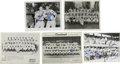 Autographs:Photos, 1950s-60s Baseball Stars Signed Photographs with Musial,Schoendienst, Spahn and More, Lot of 9. Assortment of nine teamp...