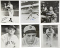 "Autographs:Photos, Hall of Fame Single Signed Photographs Lot of 6. We offer a lot ofsix 8x10"" black and white photographs, all individually ..."