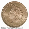 Proof Indian Cents: , 1862 1C PR67 Cameo PCGS. Of similar quality to the PR67 ...