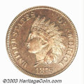 Proof Indian Cents: , 1876 1C PR65 Red PCGS. Bright pink-red and golden colors ...