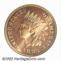 Proof Indian Cents: , 1883 1C PR67 Red PCGS. The 1883 has the distinction of ...