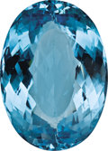 Gems:Faceted, BRIGHT BLUE TOPAZ. ...