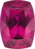 Gems:Faceted, EXCEPTIONAL DEEP PINK TOURMALINE GEMSTONE. ...