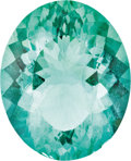 Gems:Faceted, INTENSE GREEN FACETED FLUORITE. ...