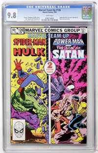 Marvel Team-Up #126 Spider-Man and Hulk/Son of Satan (Marvel, 1983) CGC NM/MT 9.8 White pages