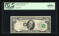 Error Notes:Shifted Third Printing, Fr. 2021-E $10 1969C Federal Reserve Note. PCGS Very Fine 30PPQ.. ...