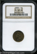 Proof Indian Cents: , 1898 1C PR66 Red and Brown NGC. Very close to full Red ...