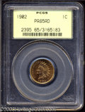 Proof Indian Cents: , 1902 1C PR65 Red PCGS. Razor-sharp striking details are ...