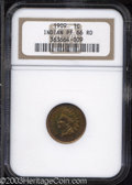 Proof Indian Cents: , 1909 1C PR66 Red NGC. Rich orange and magenta iridescent ...