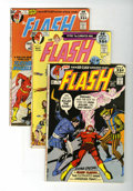Bronze Age (1970-1979):Superhero, The Flash Group (DC, 1971-77) Condition: Average VF.... (Total: 10Comic Books)