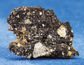 Meteorites:Lunar, MOON ROCK WITH FUSION CRUST. ...
