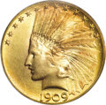 Indian Eagles, 1909-S $10 MS65 PCGS....
