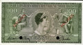 Luxembourg, Luxembourg: Banque Internationale A Luxembourg Specimen 100 Francs21-4-1956,...