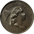 Half Cents, 1794 1/2 C MS65 Brown NGC....