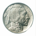 Buffalo Nickels: , 1915-S 5C MS65 PCGS. A generally well produced S-mint ...