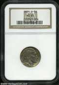 Buffalo Nickels: , 1921-S 5C MS65 NGC. While not as elusive in Uncirculated ...