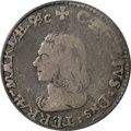 (1659) 4PENCE Lord Baltimore Fourpence VF20 PCGS....(PCGS# 32)