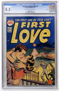 Golden Age (1938-1955):Romance, First Love Illustrated #10 File Copy (Harvey, 1951) CGC VF+ 8.5Light tan to off-white pages....