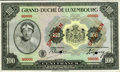 Luxembourg, Luxembourg: Grand Duche de Luxembourg Specimen 100 Francs(1934),...