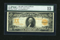 Large Size:Gold Certificates, Fr. 1186 $20 1906 Gold Certificate PMG Choice Fine 15. ...