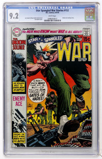 Star Spangled War Stories #152 (DC, 1970) CGC NM- 9.2 White pages