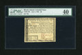 Colonial Notes:Rhode Island, Rhode Island July 2, 1780 $8 PMG Extremely Fine 40....