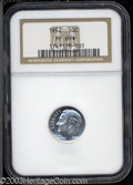 Proof Roosevelt Dimes: , 1952 10C PR69 ★ NGC. A well struck, untoned, and ...