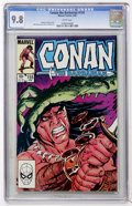 Modern Age (1980-Present):Miscellaneous, Conan the Barbarian #155 (Marvel, 1984) CGC NM/MT 9.8 White pages....