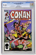 Modern Age (1980-Present):Miscellaneous, Conan the Barbarian #165 (Marvel, 1984) CGC NM/MT 9.8 White pages....