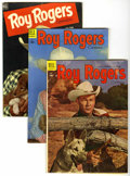 Golden Age (1938-1955):Western, Roy Rogers Comics Group (Dell, 1951-59) Condition: Average VG+....(Total: 71 Comic Books)