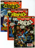 Bronze Age (1970-1979):Horror, Tomb of Dracula Group (Marvel, 1972-79) Condition: AverageFN/VF.... (Total: 34 Comic Books)