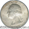 Washington Quarters: , 1932-D 25C MS64 PCGS. Well defined overall with some ...