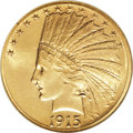 Indian Eagles, 1915-S $10 MS64 NGC....